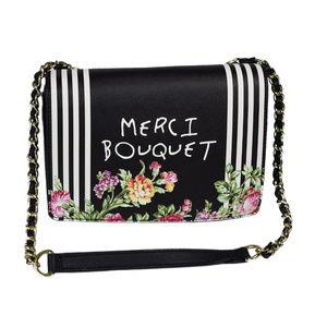 Betsey Johnson Shoulder Bag Merci Bouquet Purse